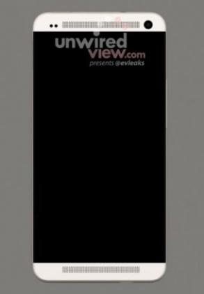 Первое изображение флагманского смартфона HTC M7